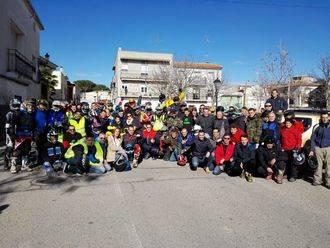 Alrededor de 300 personas participan en la II Ruta Solidaria celebrada en Yebra