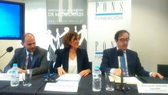 Yolanda Ramírez inaugura la Jornada de Mediación Mercantil dedicada a dar a conocer este servicio a empresarios