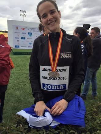 La alcarreña Ana Lozano, cuarta en el Campeonato de España de Cross