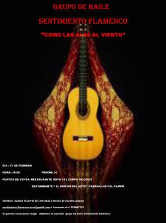 Flamenco y una nueva exposición, actividades culturales de los próximos días en Cabanillas