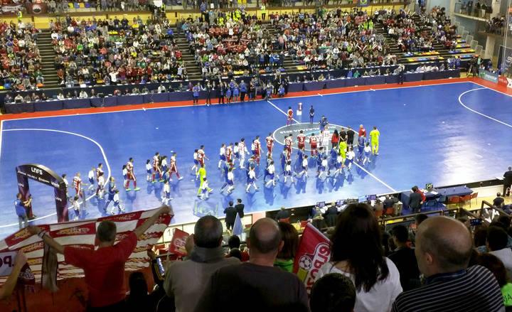 Alejandro Ruiz, de Ciudadanos, encantado con los efectos de la Copa de España de Fútbol Sala en la capital