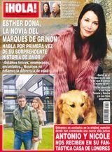 ¡HOLA! Esther Doña, la nueva novia del Marqués de Griñón