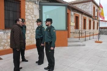 Gregorio destaca en Horche el descenso de un 4,5% de la tasa de criminalidad en la provincia de Guadalajara