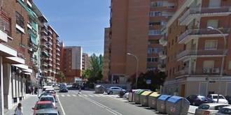 Dos heridos leves como consecuencia de un atropello en la calle Sigüenza