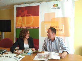 Yolanda Ramírez evalúa de forma positiva las iniciativas presentadas en el marco del programa Leader de ADAC
