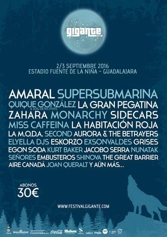 Supersubmarina se une a la 'familia' del Festival Gigante 2016 de Guadalajara