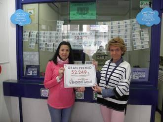 Uno de los tres premiados de España en la Bonoloto este sábado ha sido sellado en Guadalajara