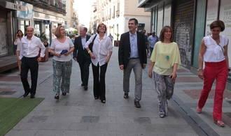 Cospedal destaca en Guadalajara la apuesta del PP por la rebaja de impuestos para incentivar la creación de empleo