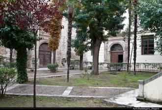Brianda de Mendoza y el covento de la Piedad, detalle monumental de junio