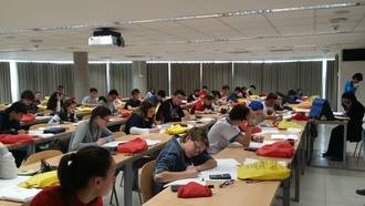 Guadalajara celebró la fase provincial de la Olimpiada Matemática