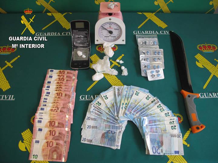 Cuatro detenidos en Marchamalo con 31 gramos de cocaína