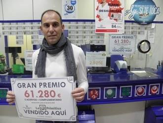 La Primitiva también toca en Guadalajara: 61.000 euros de un segundo premio