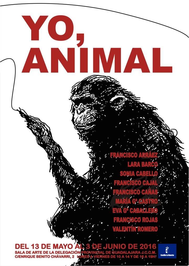 'Yo, animal', una nueva exposición que llega a Guadalajara