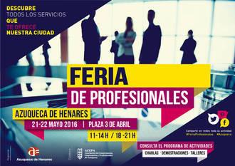 La Feria de Profesionales promocionará la actividad de 21 negocios este fin de semana en Azuqueca