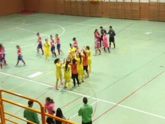Las chicas del Alovera despiden la temporada con una contundente victoria frente al At. Madrid B