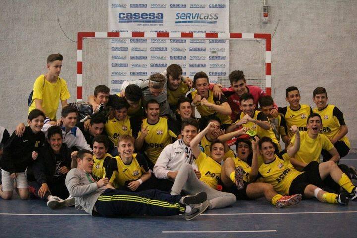 Los juveniles del Atlético Almonacid jugarán el año que viene en División de Honor de su categoría