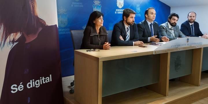 Ayuntamiento de Guadalajara, Orange y EOI se unen para promover las nuevas tecnologías entre las empresas