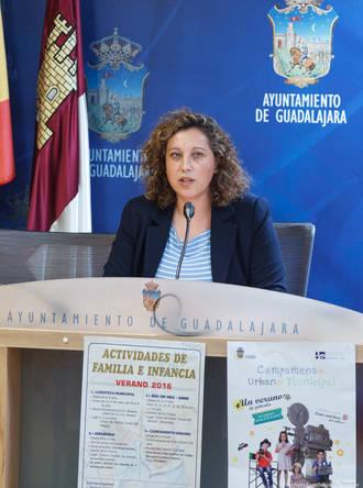 El Ayuntamiento de Guadalajara pone nuevamente en marcha su programa de actividades de familia e infancia para el verano