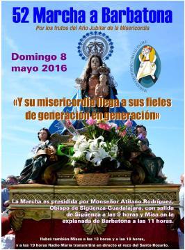 La Diócesis de Sigüeza-Guadalajara prepara su 52ª Marcha a Barbatona