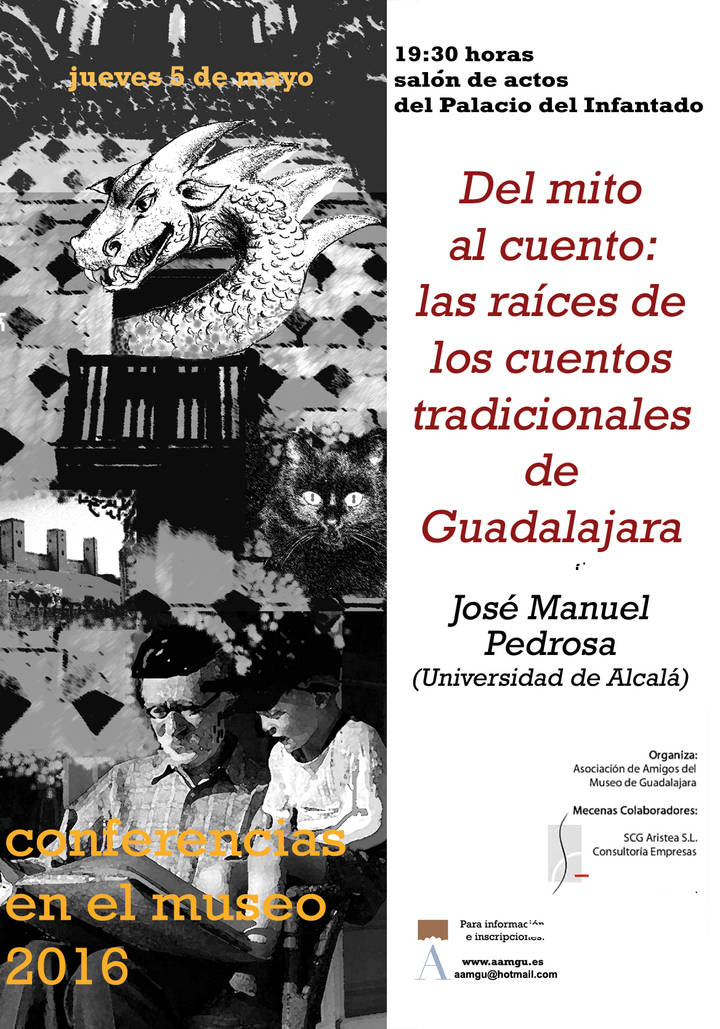 """""""Del mito al cuento: las raíces de los cuentos tradicionales de Guadalajara"""", en el Museo de Gudalajara"""