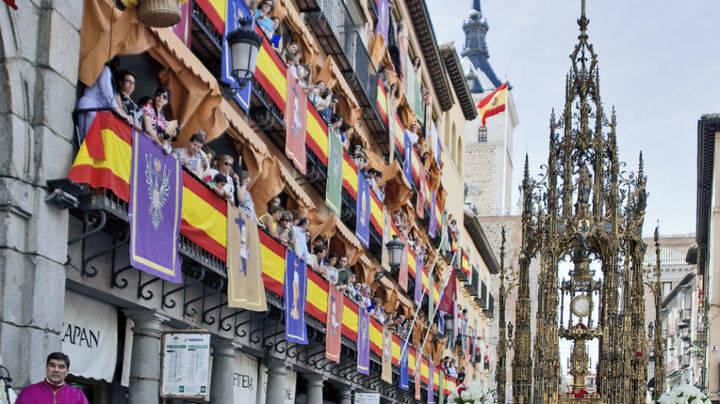 Miles de fieles y turistas podr�n contemplar la restaurada Custodia de Arfe del Corpus de Toledo, fiesta declarada de Inter�s Tur�stico Internacional