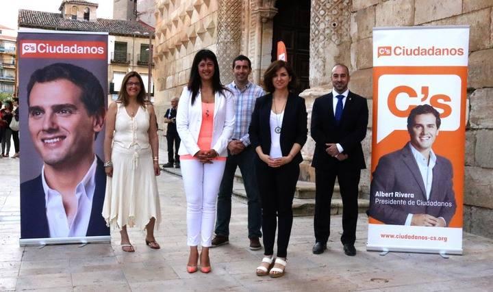 Ciudadanos Guadalajara presenta sus candidatos al 26-J