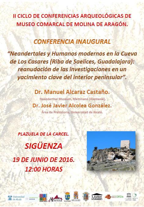 Sigüenza acogerá la apertura del II Ciclo de Conferencias del Museo de Molina