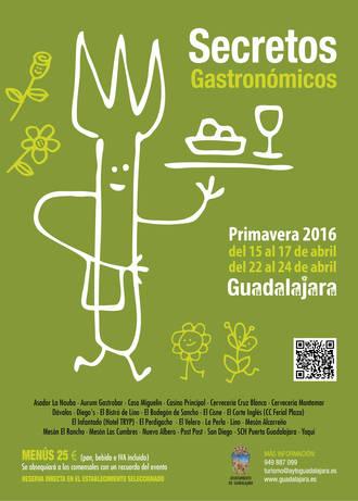 Llega la edición de primavera de los Secretos Gastronómicos