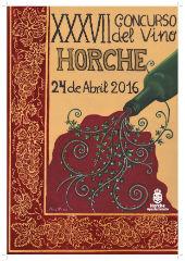 Todo dispuesto en Horche para celebrar este domingo la XXXVIIª edición del Concurso del Vino 2016