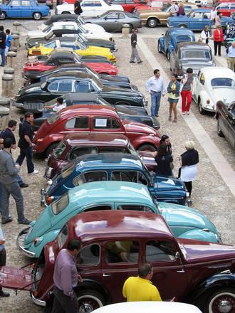 Los coches clásicos tienen una cita el próximo domingo en Sigüenza