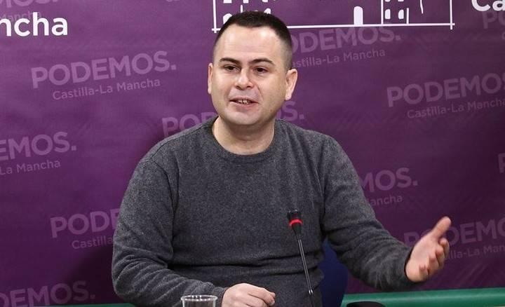 El podemita Llorente intenta justificar lo injustificable a sus paisanos de Guadalajara