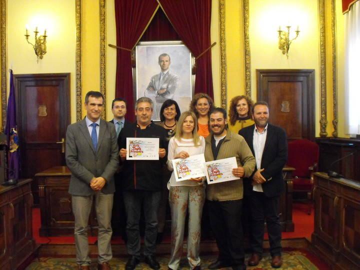 Guadalajara entrega los premios de la XIII edición de la Ruta de la Tapa de Primavera 2016