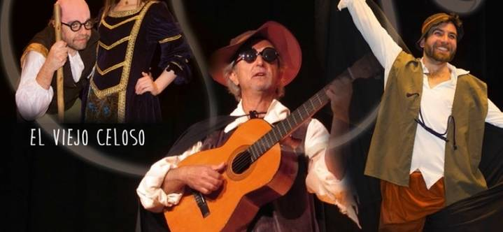 Cervantes aterriza en el Teatro Moderno durante los días 9 y 10 de abril