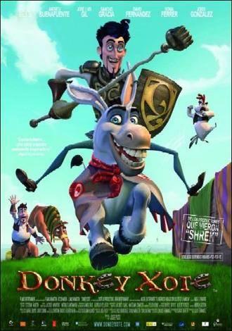 """'Donkey Xote', cine de animación """"cervantino"""" en el Teatro Moderno"""