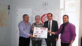 FCG entrega 300 euros a Cruz Roja de su campaña Reyes Millonarios Solidarios 2015