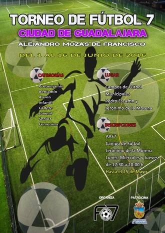 Llega un clásico del deporte alcarreño: El Torneo de Fútbol 7 Alejandro Mozas