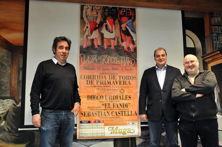 Presentado el cartel de la Corrida de Toros de Primavera en Haro