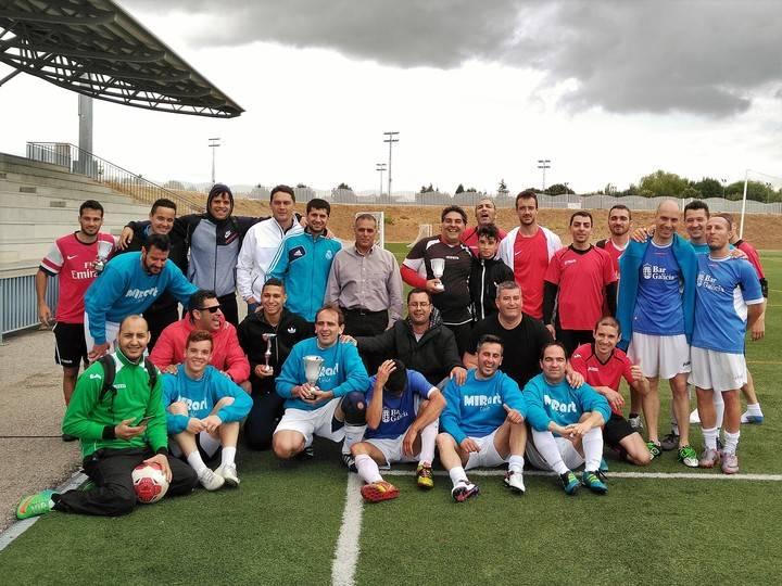CDB Navarrosa-Bar Galicia, campeón de Copa en el fútbol 7 aloverano