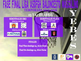 El CDM Valdeluz acoge este fin de semana las Final Four de la III Liga Provincial de Baloncesto Masculino