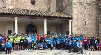 Más de 300 personas participan en la I Concentración de Runners de Yebra