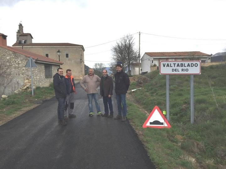 La Diputación acondiciona la carretera GU-929 que une Ocentejo, Valtablado del Río y Arbeteta