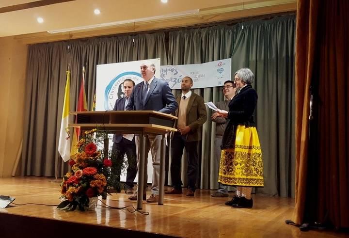El presidente de la Diputación participa en la lectura colectiva del 'Viaje a la Alcarria' en el Colegio Sagrado Corazón