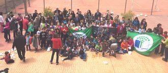 La Diputación entrega 'Banderas Verdes' a colegios de la provincia en el 10º Encuentro Ecoescuelas en Tórtola de Henares