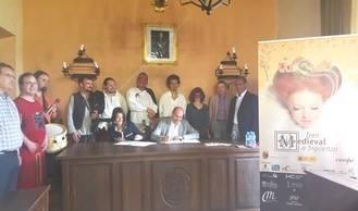 La Diputación continúa apoyando el desarrollo del Tren Medieval de Sigüenza