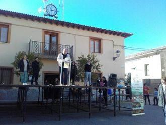 La Diputación participa en la lectura de 'Viaje a la Alcarria' en los Mayos de Gárgoles de Arriba