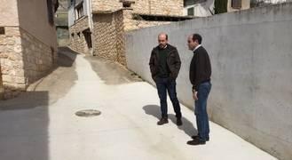 La Diputación invierte más de 200.000 euros en obras de pavimentación y renovación de redes en los pueblos