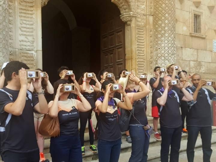 El viaje a la Alcarria pone en valor el Palacio del Infantado como Patrimonio de la Humanidad
