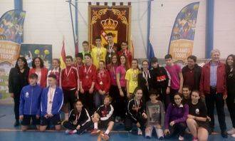 Éxito de la Selección de Guadalajara en el Campeonato Regional de Badminton de Deporte Escolar