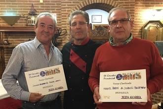 Ballesteros y Arroyo, vencedores en la Fase Local de Mus de Brihuega