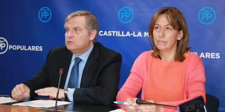 """El PP lamenta """"el retroceso social y económico de Castilla-La Mancha con las políticas radicales de izquierda de Page-Podemos"""""""